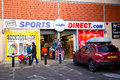 Sports direct london january rd the exterior of on january the rd in london england uk ports operates stores in europe Stock Image