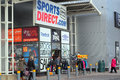 Sports direct retail store. Stock Photography
