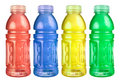 Sports Drink Set Isolated Stock Photography