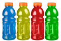 Sports Drink Set Isolated Royalty Free Stock Photography