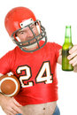 Sports Fan - Have a Cold One Royalty Free Stock Image