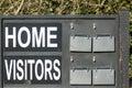 Sports Fixture Scoreboard