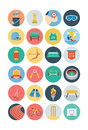 Sports flat icons vol a set of vector Royalty Free Stock Photo