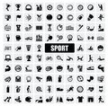 Sports icons Stock Images