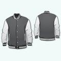 Sports or varsity jacket