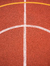 Sports lines and curves background white yellow on a multi use games area muga Stock Photo