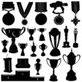 Sports reward vector Royalty Free Stock Photos