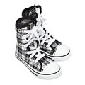 Sports shoes - high top sneakers Royalty Free Stock Photo