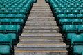 Sports stadium steps Royalty Free Stock Photography
