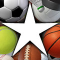 Sports Star Royalty Free Stock Images