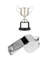 Sports Whistle Stock Photography
