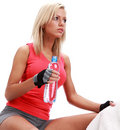 Sporty female Royalty Free Stock Photos