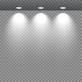 Spot lights showcase.
