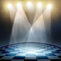 Spotlight  background Royalty Free Stock Photo