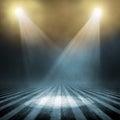Spotlight  background Royalty Free Stock Photo