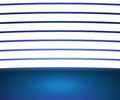 Spotlight Blue Room Background Royalty Free Stock Image