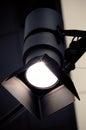 Spotlight projector Royalty Free Stock Photo