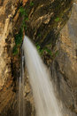 Spouting rock waterfall hanging lake glenwood canyon colorado usa Stock Images