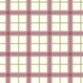 Sprawdzać deseniowy purpurowy bezszwowy Fotografia Royalty Free