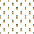 Spray no mosquito pattern seamless