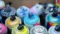 Spray paint Royalty Free Stock Photo