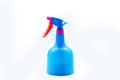 Spray a sprayer is a device used to a liquid Stock Photo