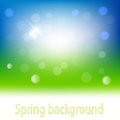 Spring background abstract and summer Royalty Free Stock Photo