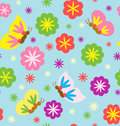 Spring Blooming Pattern Royalty Free Stock Photography
