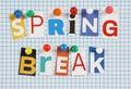 Spring Break Royalty Free Stock Photo