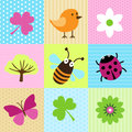 Spring Cartoons Royalty Free Stock Image