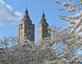 Spring in Central Park, Manhattan, New York. Royalty Free Stock Photo