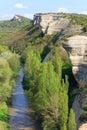 Spring Crimea Mountain landscape (Ukraine). Stock Photo