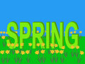Spring with daffodils Royalty Free Stock Images