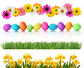 Spring Easter borders Royalty Free Stock Photo
