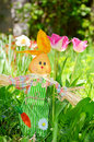 Spring easter rabbit Royalty Free Stock Photo