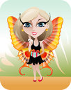 Spring Fairy Royalty Free Stock Photos