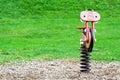 Spring fiets op Royalty-vrije Stock Fotografie