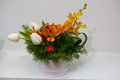 Spring flower arrangements Royalty Free Stock Photo
