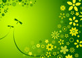 Spring flower background Stock Images