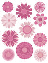Spring Flowers Abstract Illust...