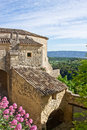 Spring in Gordes Stock Images