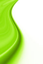 Spring green abstract background curves white space Stock Images