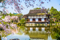 Spring at Heian Shrine in Kyoto Royalty Free Stock Photo