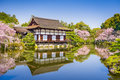 Spring at Heian Shrine Royalty Free Stock Photo