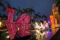 Spring Lantern Festival in Hong Kong Royalty Free Stock Photo