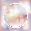 Spring lights abstract vector illustration Royalty Free Stock Photography