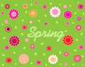 Spring nature on a background Stock Photography