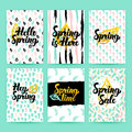 Spring Nature Trendy Posters