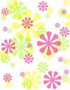 Spring Opaque Retro Flowers Background Royalty Free Stock Photography