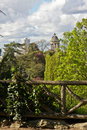Spring in the Parc de Buttes-Chaumont Royalty Free Stock Image